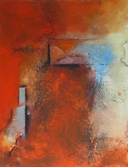 Bild der (T)Räume I/ Mischtechnik - 80 x 70 cm - 2010