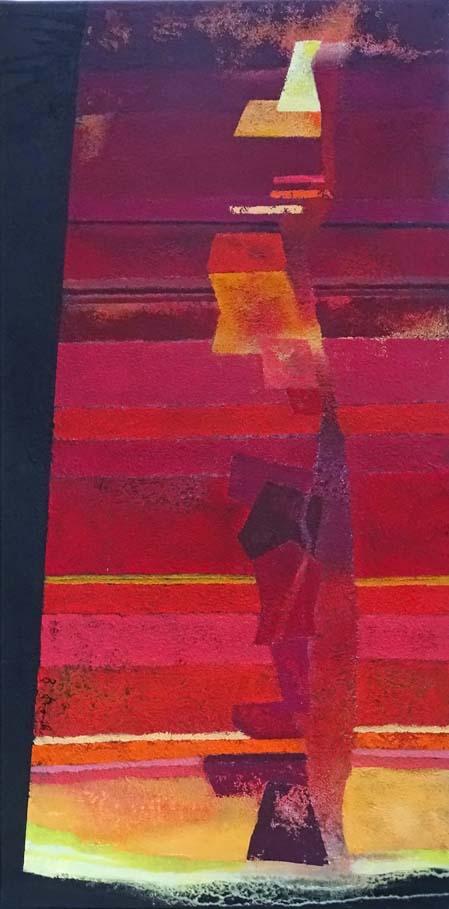 Das Leben ist zu kurz für Grau / Acryl auf Leinwand - 50 x 100 cm - 2011