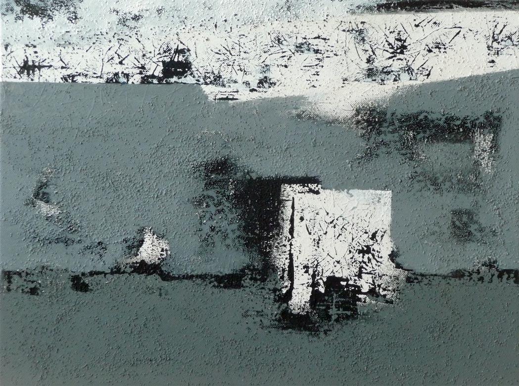 Der 41. Tag / Acryl auf Leinwand - 30 x 40 cm - 2014