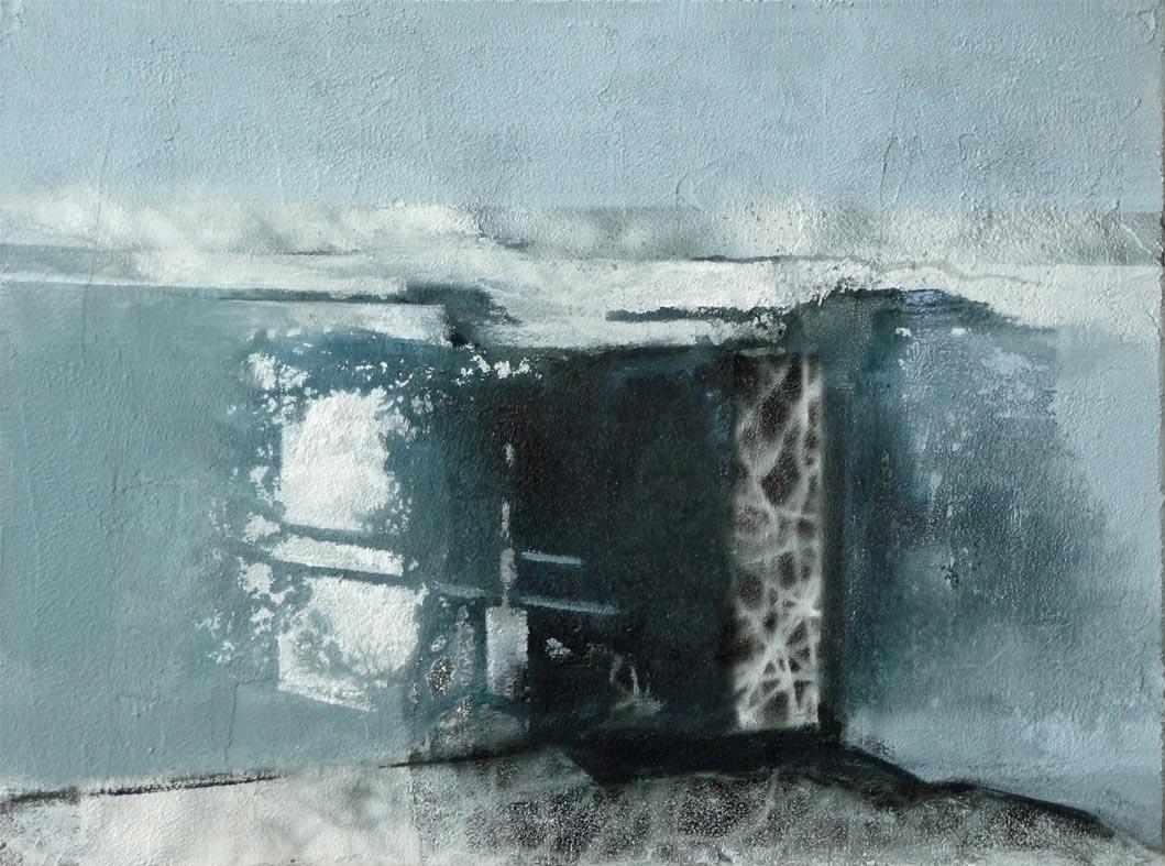 Heute geschlossen - wegen gestern / Acryl auf Leinwand - 30 x 40 cm - 2014