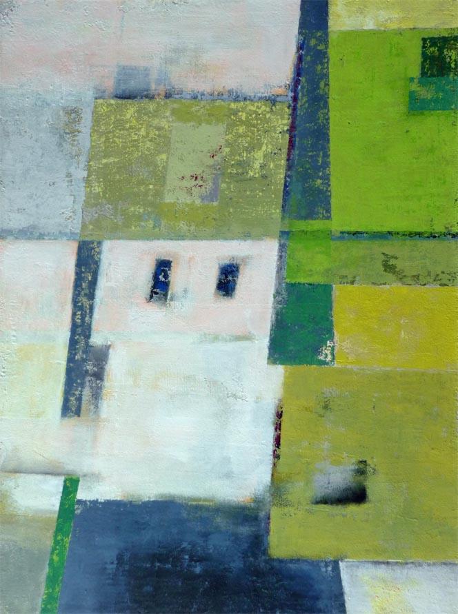 Schauplatz / Acryl auf Leinwand - 60 x 80 cm- 2011
