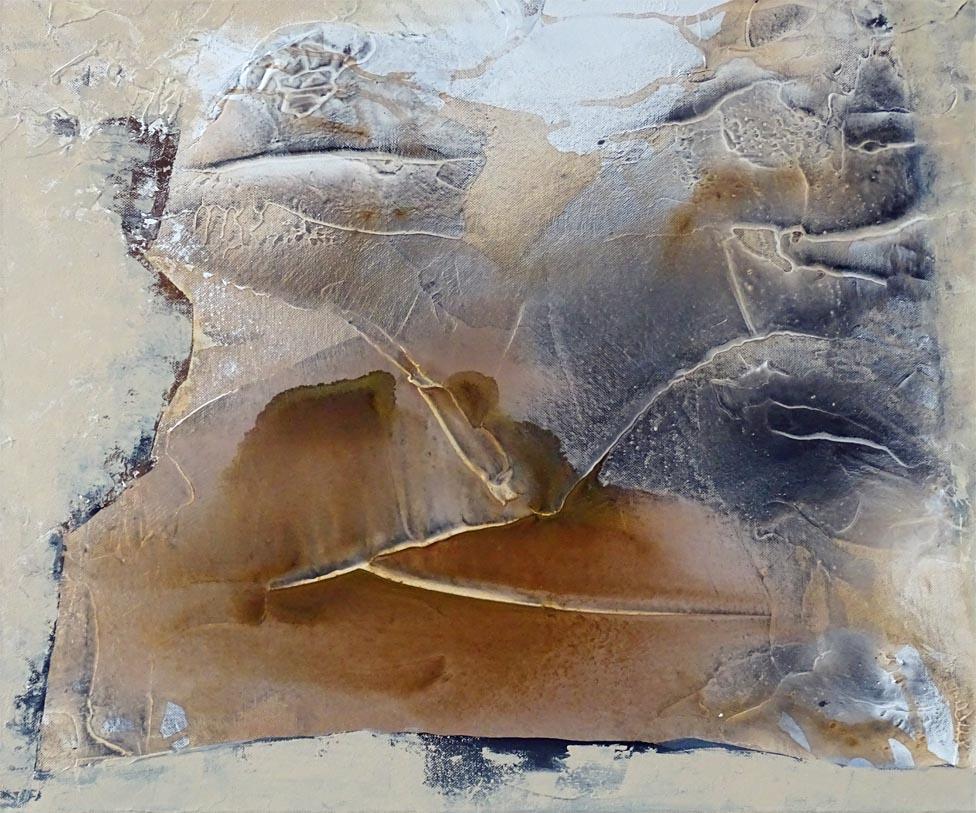 Schauspiel Natur / Acryl auf Leinwand - 50 cm x 60 cm - 2016