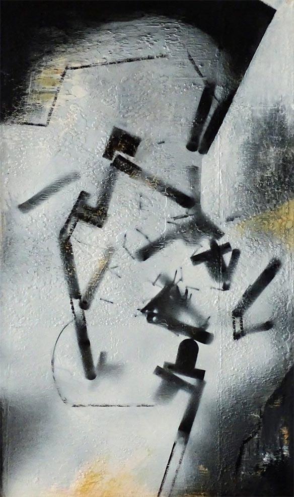Schwerelos / Acryl auf Leinwand - 50 x 30 cm - 2016