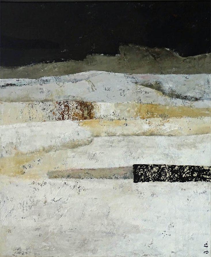 Weniger ist mehr / Acryl auf Leinwand - 60 x 50 cm - 2018