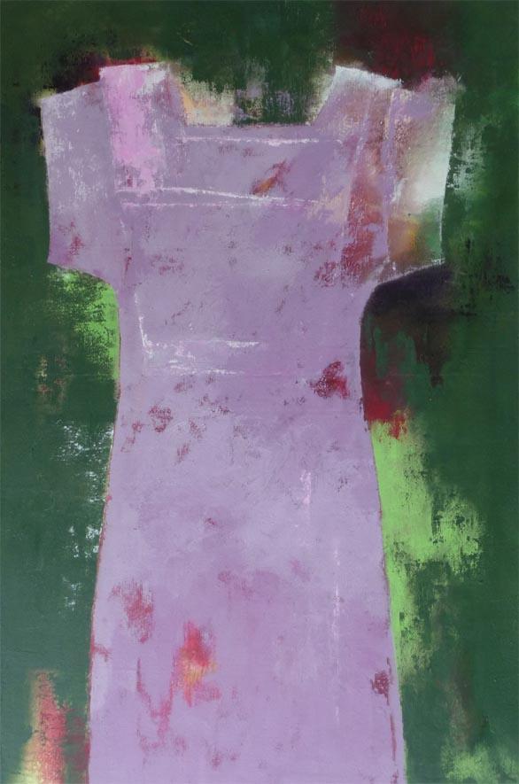 Die neue Farbe der Saison / Acryl auf Leinwand - 90 x 60 cm - 2011